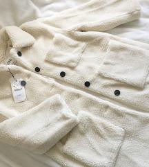 LEÁRAZVA ÚJ címkés Zara teddy kabát M