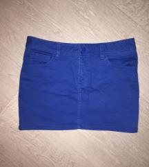 Kék miniszoknya