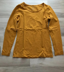 Basic sárga 38-as hosszúujjú felső