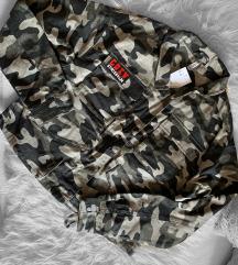H&M címkés oversized kabát