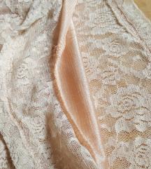 3 részes álomszép púder csipke ruha + ajándék