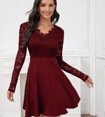Vörös alkalmi ruha