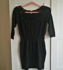 Promod csipke fekete ruha