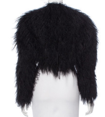 Gucci valódi mongolian lamb fur kis kabát