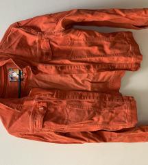 Narancssárga kabát M