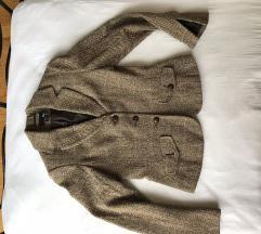 H&M gyapjú karcsúsított tweed blézer/zakó