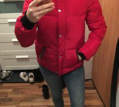 Piros téli dzseki