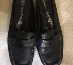 Új valódi bőr papucscipő belül is bőr fekete