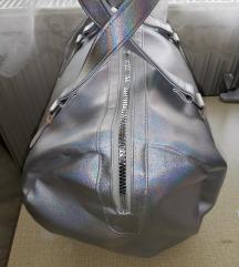 Holografikus közepes/nsgy pakolós táska