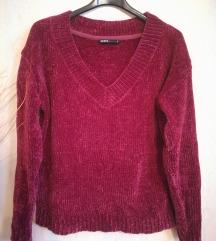 Új zsenília pulóver