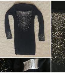 Fekete bodycon ruha