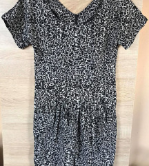 Dorothy Perkins feketefehér sexy ruha (csere is)