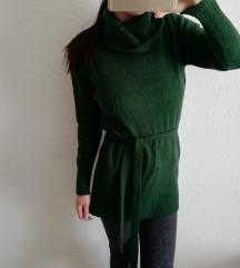 Méregzöld pulóver