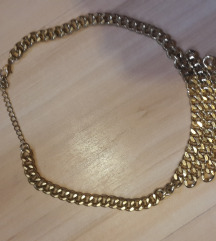 H&M arany színű statement nyaklánc