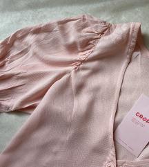 Cropp rózsaszín top