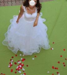 Eladó teljesen új menyasszonyi ruha