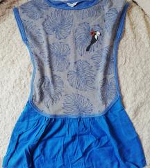 Szürke-kék ruha