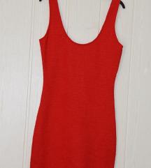Piros sztreccses ruha 38/M