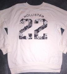 Hollister fehér pulóver mintával 🌸