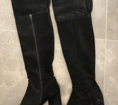 Zara Bőr csizma