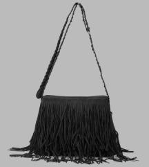 Velúr rojtos táska