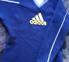 Sötétkék Adidas pulóver S - csere vagy 400 Ft