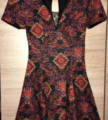 Miss Selfridge paisley mintás ruha (csere is)