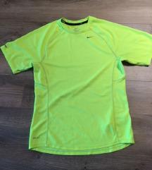 Nike dri-fit fiú férfi zöld póló