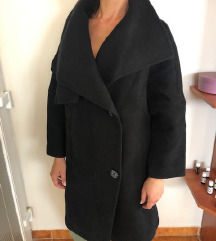 Chinstudio fekete szövetkabát kabát női S