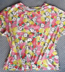 XL - Pull&Bear gyümölcsös rövid ujjú póló