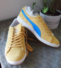 38 PUMA Új sportcipő citromsárga kék
