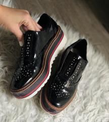Zara platform elegáns cipő