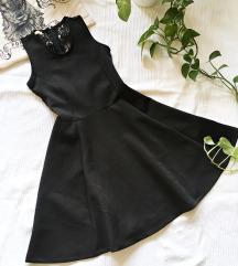 ♣♠ 'Little black dress'- hátul csipkés ruha ♠♣
