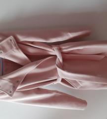 Vero Moda puderrozsaszin szövetkabát xs-es