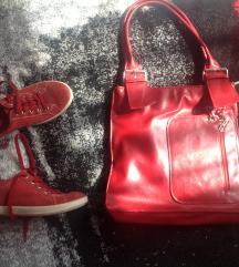 Minőségi kényelmes bőr ecco piros cipő 36-os