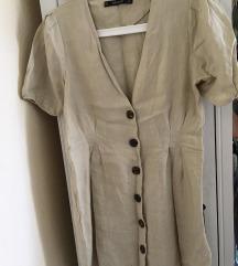 eredeti Zara lenvászon ruha