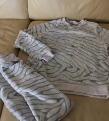 Plüss pizsama M