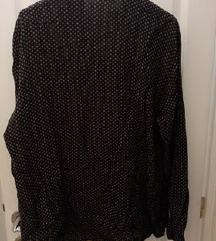 Fekete mintás ing