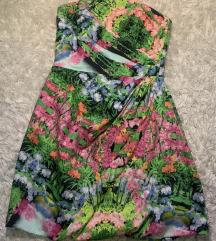 Zara virágos, 'japán kert' ruha