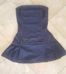 Farmer hatású mini ruha