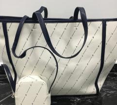 Női shopper táska strandtáska válltáskával új