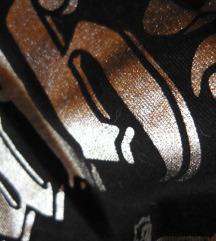✿ Újsz.vagány fekete - ezüst férfi C&A póló