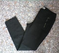 next fekete elegáns nadrág