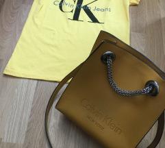 Calvin Klein szett S-es felső táskával