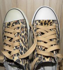 Leopárd mintás cipő