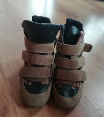 Tamaris leopárdmintás platform cipő