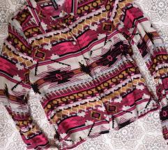 H&M azték mintás ing XS S 34 36