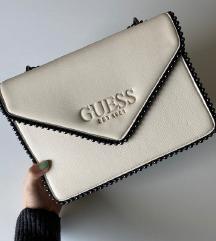 Világos bézs Guess táska