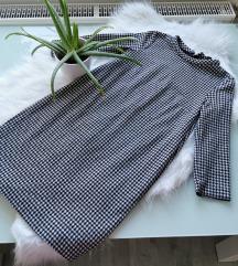 MANGO Tyúklábmintás ruha XS