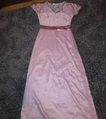 Halvány rózsaszín alkalmi ruha